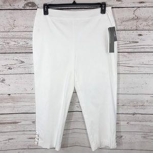 JM Collection Capris Dressy Stretch Comfort Waist